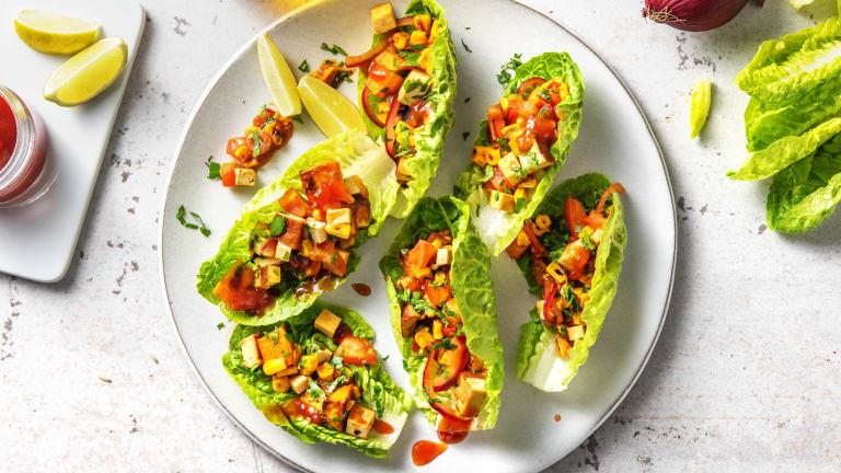 Smokey Mexican Tofu Jumble (v)