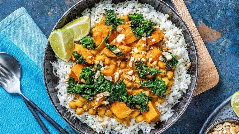 South East Asian Inspired Chickpea Curry