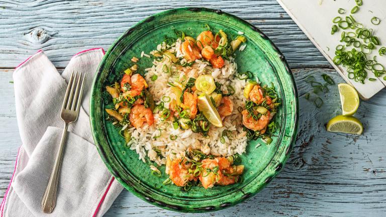 Speedy Chili Shrimp Stir-Fry