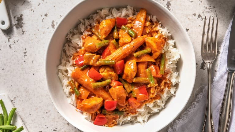 Speedy Zanzibar Chicken Curry