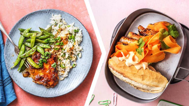 Sriracha Pork Chop for Dinner