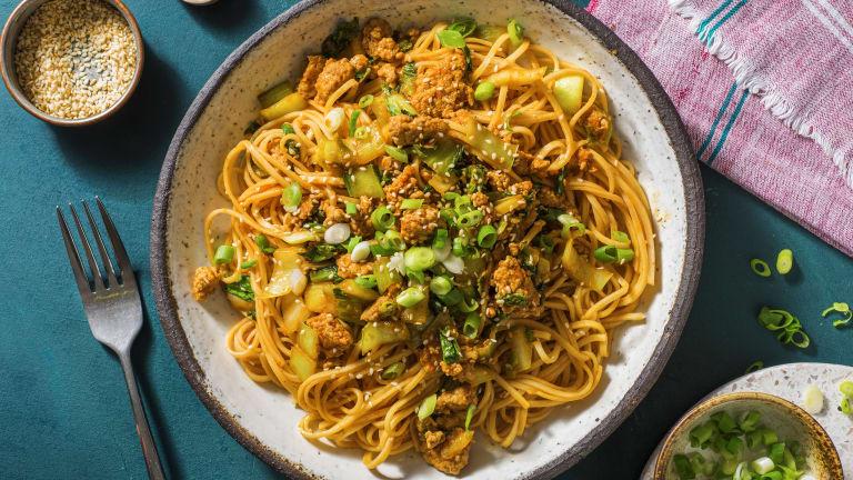 Sriracha Pork Noodles