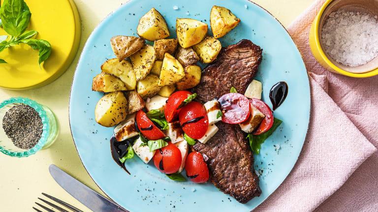 Steak Caprese