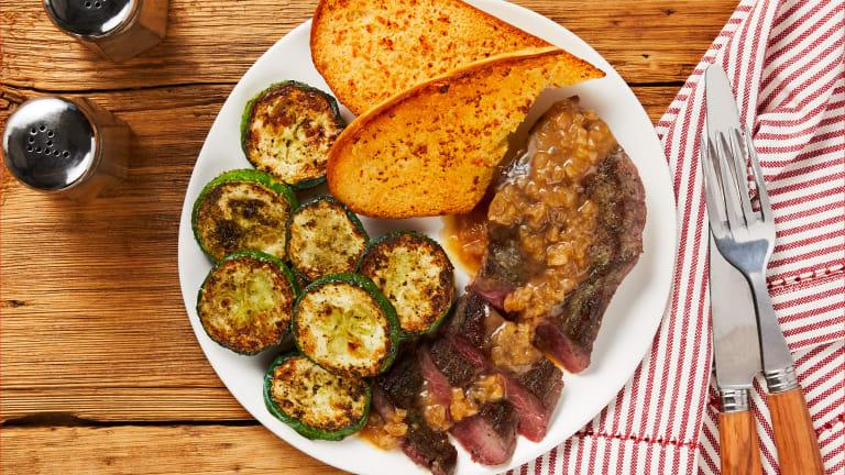 Steak & Shallot Pan Sauce