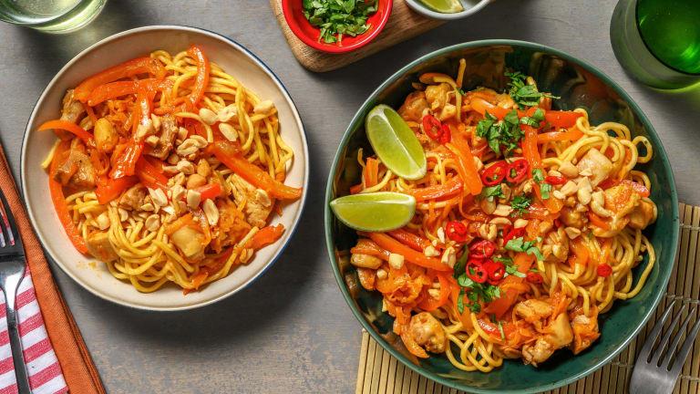 Sticky Asian Style Chicken Stir-Fry