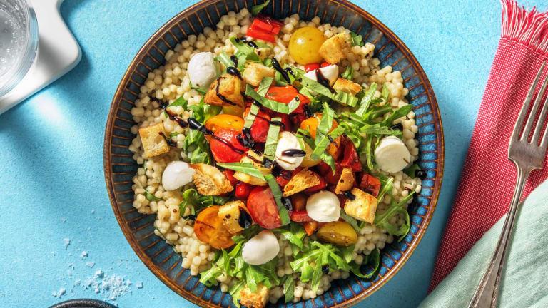 Summer Tomato Bruschetta Bowl