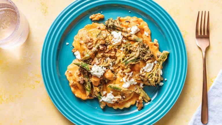 Sun-Dried Tomato & Aubergine Filled Pasta