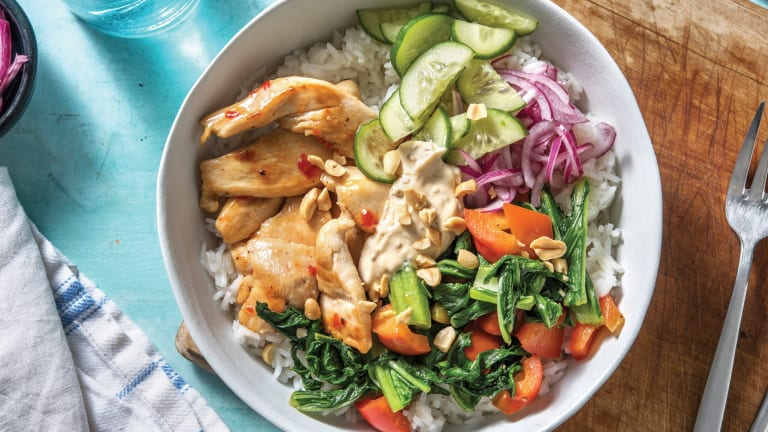 Sweet Chilli Chicken Rice Bowl
