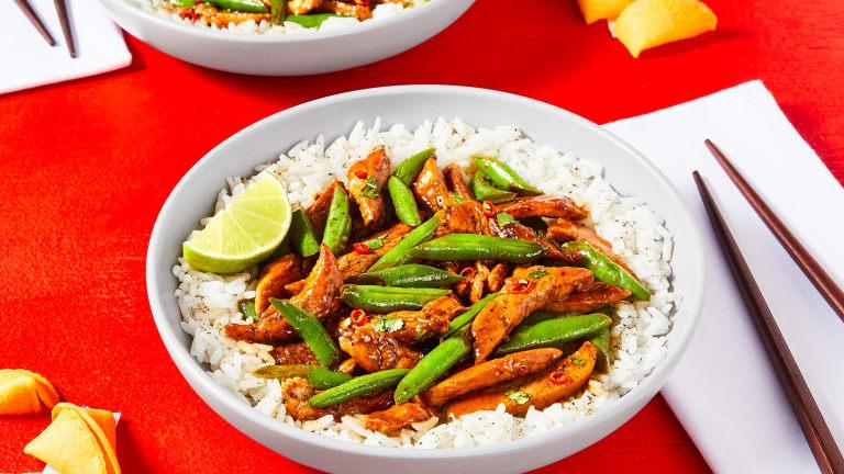 Sweet & Spicy Chicken Stir-Fry