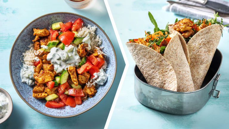 Tandoori Chicken with Garlic Rice