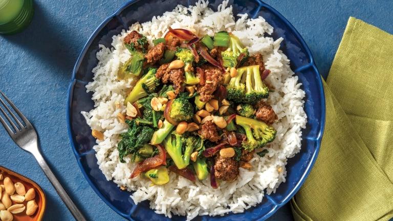 Teriyaki Beef & Veggie Stir-Fry