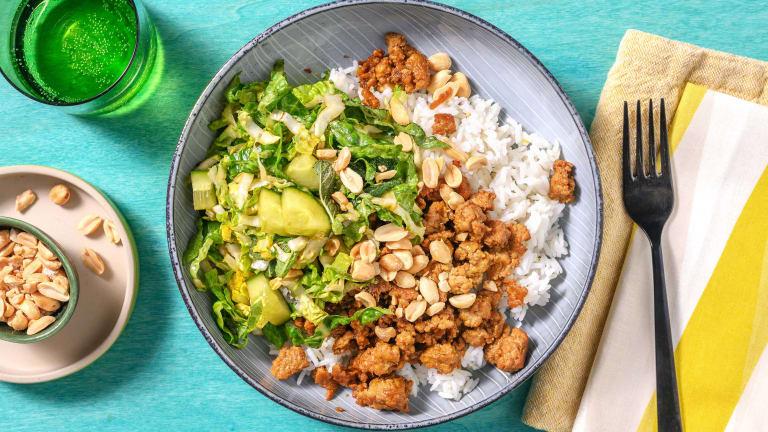 Thai Larb Style Pork Salad