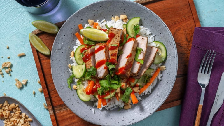 Thai-Spiced Pork and Lemongrass Rice
