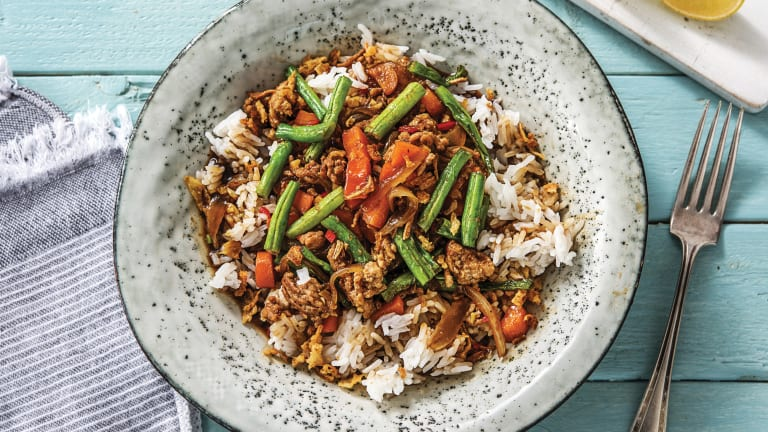 Thai-Style Pork Stir-Fry