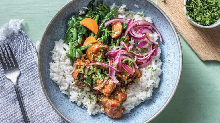Thai-Style Sweet Chilli Chicken