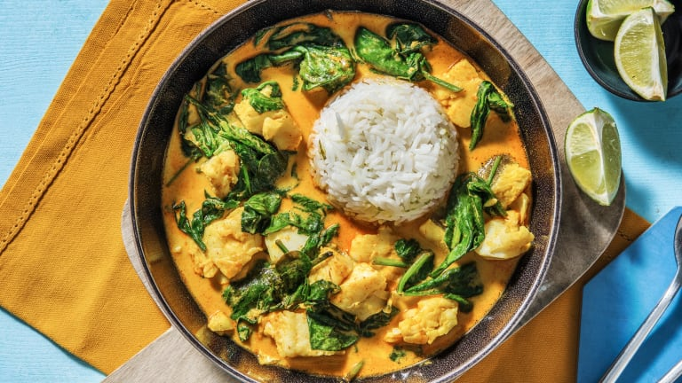 Thai Style Yellow Cod Curry