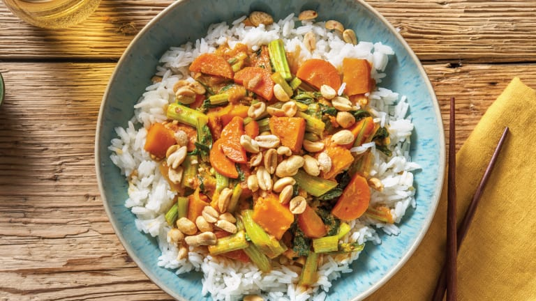 Mild Thai Pumpkin & Veggie Curry