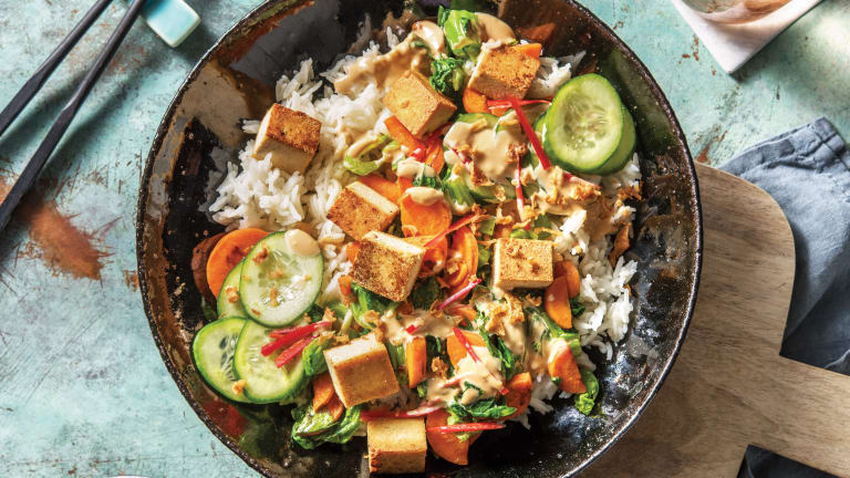 Tofu & Veggie Poke Bowl
