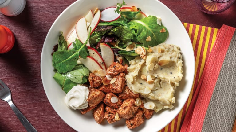 Quick Tunisian Chicken & Sumac Crushed Potatoes