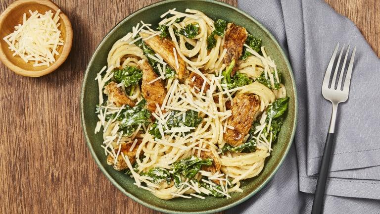 Tuscan Chicken & Kale Spaghetti