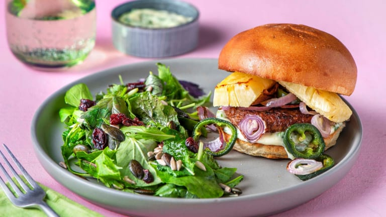 Teriyaki Veggie Burgers