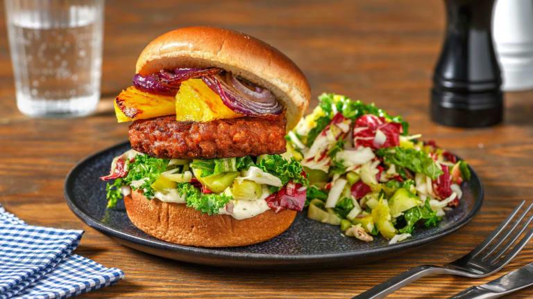Luau Veggie Burgers