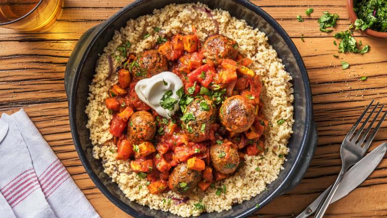 Vegetarian Meatball Tagine