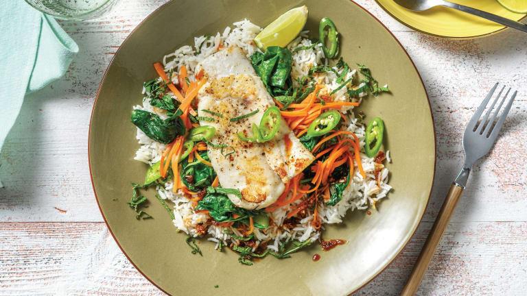 Vietnamese Lemongrass Fish