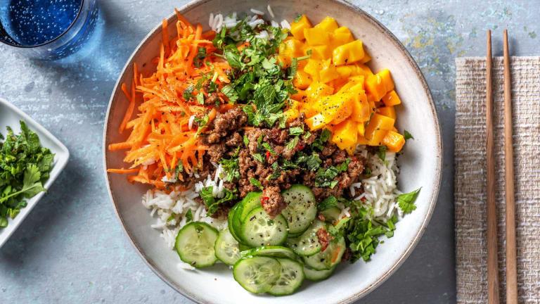 Vietnamesisk inspireret oksekød