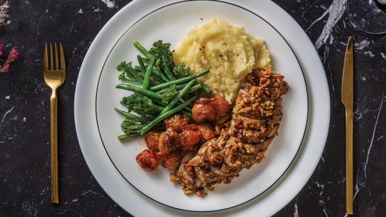 Walnut-Crusted Pork Fillet