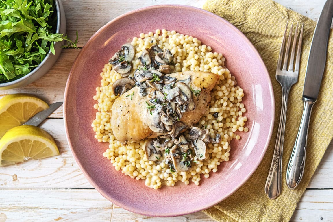 Mushroom Gravy Chicken
