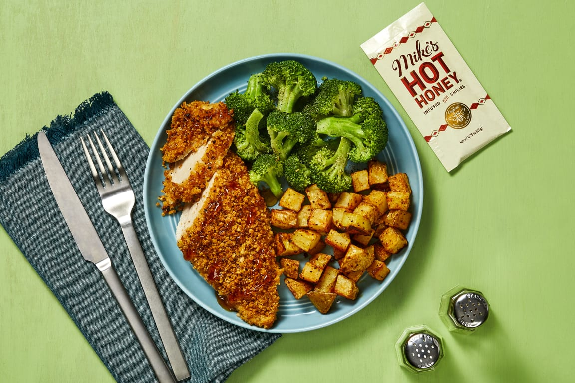 Crusted Chicken with Mike's Hot Honey®