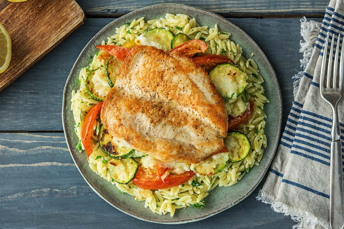 Winner Winner Chicken Orzo Dinner