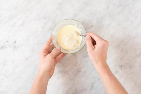 Prepare The Cheese Filling