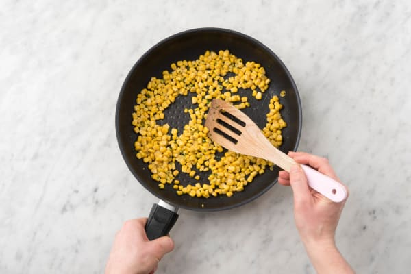 Cook Corn and Beans
