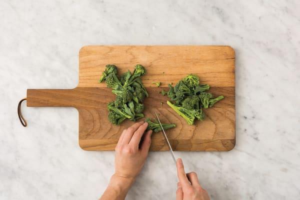 Add the veg