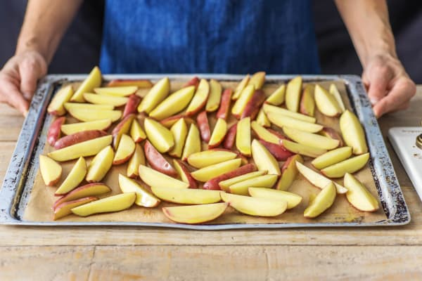 Cook the Wedges