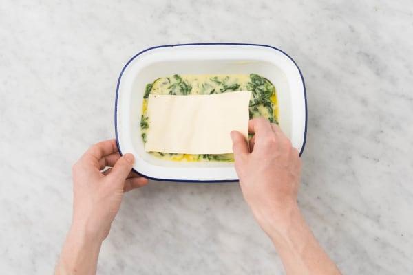 Lasagne maken