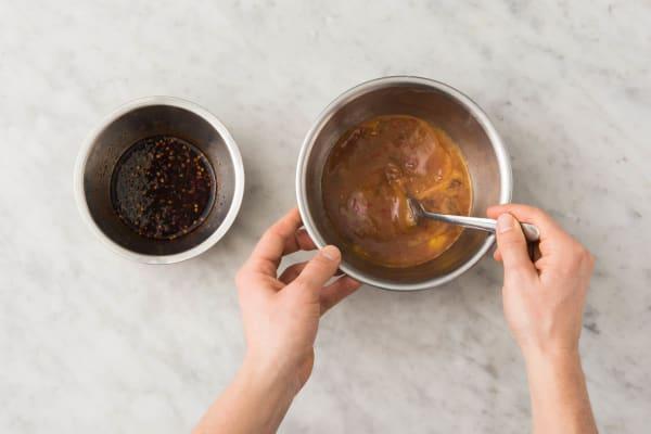 Saus en omelet maken