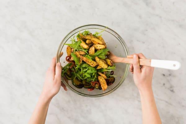 Salat vollenden