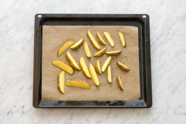 kartoffelstifte ZUBEREITEN
