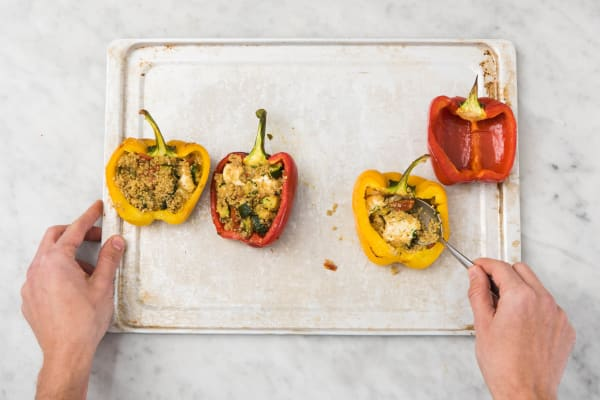 5 ASSEMBLE PEPPERS