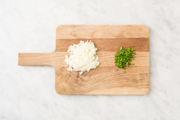 Cook Rice and Prep