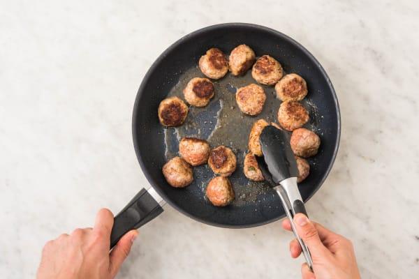 Cook Meatballs