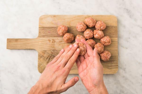 Shape Meatballs