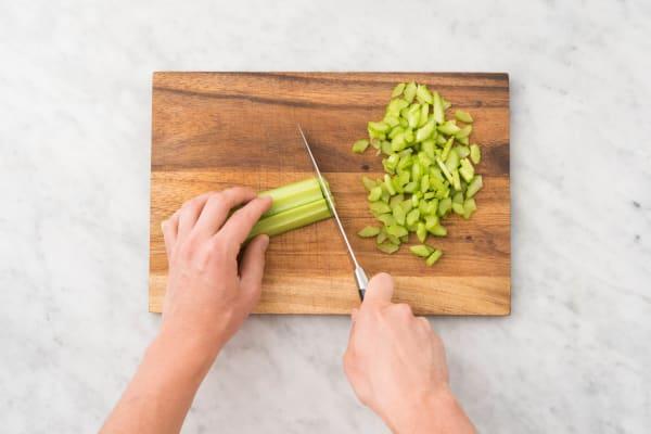 Faites sauter les légumes