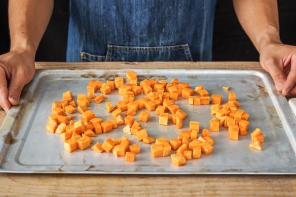 Roast the Sweet Potato