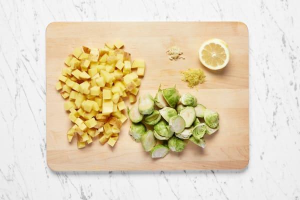 Prep and Cook Potatoes