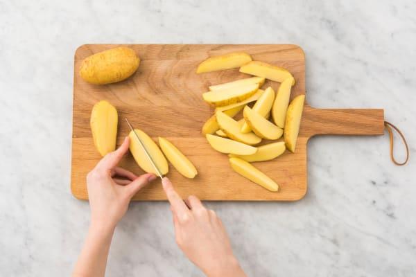 Aardappelen bereiden