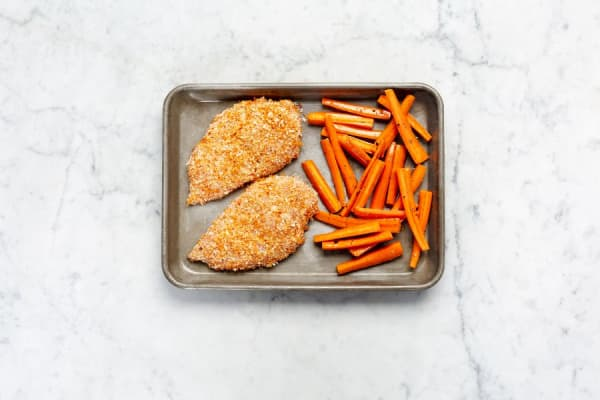 Roast Chicken and Carrots